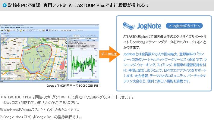 高性能GPSランナーズコンピューター ASG-R01