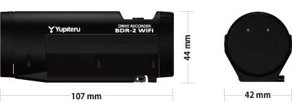 BDR-2 WiFiサイズ