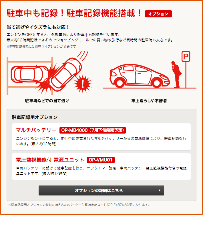 ドライブレコーダー DRY-V2
