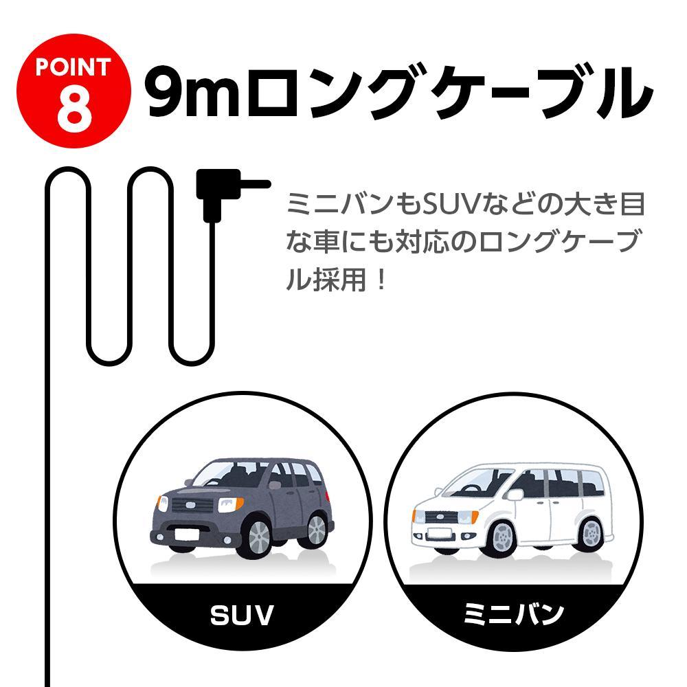 ドライブレコーダー SN-TW9500dP
