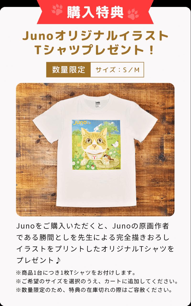 Juno ユノ 購入特典 オリジナルTシャツ