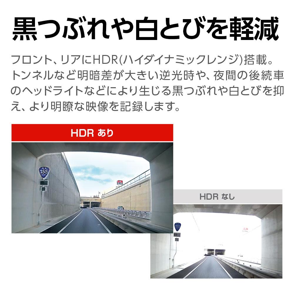 HDR(ハイダイナミックレンジ)搭載 Y-410di