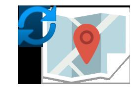 ご使用のOP-WLSD08の地図データを最新データに更新!