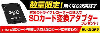 数量限定 SDカード変換アダプター